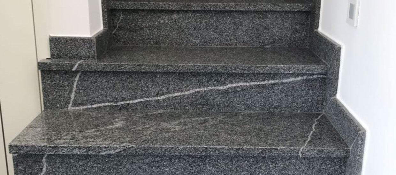 Kamnoseštvo Granitko granitne stopnice
