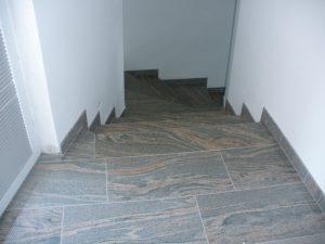 Kamnoseštvo Granitko stopnice in tlaki